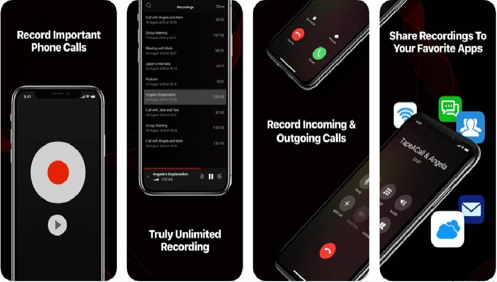 برامج تسجيل المكالمات للايفون 2 - برنامج تسجيل مكالمات ايفون