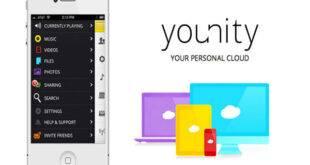 تطبيق younity لإستعراض ملفات جهازك الحاسوب على هاتف والعكس