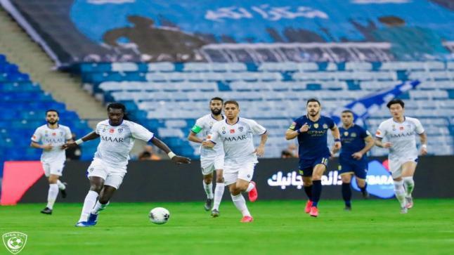 الهلال يقسو على النصر في ديربي الرياض